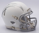 San Diego Chargers - ICE alternate Speed Riddell Mini Football Helmet