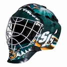 San Jose Sharks Full Size Youth Goalie Mask