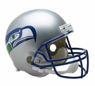 Seattle Seahawks 1983-2001 Throwback Riddell NFL Full Size Deluxe Replica Football Helmet