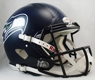 Seattle Seahawks Riddell Authentic Revolution Speed Hydro FX NFL Full Size On Field Football Helmet