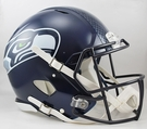 Seattle Seahawks Riddell Authentic Revolution Speed NFL Full Size On Field Football Helmet