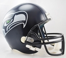 Seattle Seahawks Riddell NFL Full Size Deluxe Replica Football Helmet