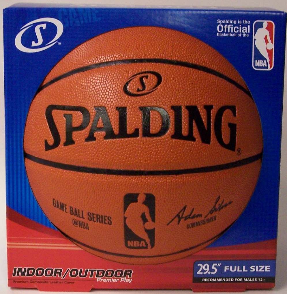 Spalding - NBA Game Ball Series Indoor   Outdoor Full Size Basketball  74875 bc8800311
