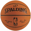 "Spalding ""NEW"" Official Leather NBA Game Ball (29.5)"