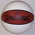 Spalding - Official Size Autograph (3 White Panel) Basketball - #74-3189