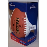 24ce6a157b8 Spalding® Signature Series Full Size Football (3 white panels   1 brown)