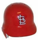 St Louis Cardinals Rawlings Pro Full Size Authentic MLB Left Handed Batting Helmet - Model Number: CCPBHSR