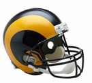 St. Louis Rams 1981-1999 Throwback Riddell NFL Full Size Deluxe Replica Football Helmet