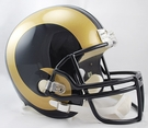 St. Louis Rams 2000-2016 Riddell NFL Full Size Deluxe Replica Football Helmet