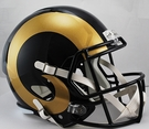 St. Louis Rams Riddell NFL Full Size Deluxe Replica Speed Football Helmet