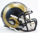 St. Louis Rams Speed Revolution Riddell Mini Football Helmet