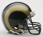 St. Louis Rams 2000-2016 VSR4 Riddell Mini Football Helmet