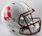 Stanford Riddell NCAA Full Size Deluxe Replica Speed Football Helmet