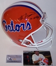 Steve Spurrier - Full Size Riddell Football Helmet - Florida Gators - PSA/DNA
