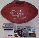 Steve Young - Autographed Official Wilson Super Bowl XXIX NFL Football - PSA/DNA