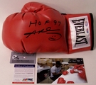 Sugar Ray Leonard Autographed Everlast Boxing Glove - PSA/DNA