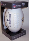 Super Bowl Champs Signature Series Team Logo Full Size Footballs