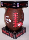 Super Bowl 51 LI Composite Leather Full Size Football