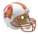Tampa Bay Bucs 1976-1996 Throwback Riddell NFL Full Size Deluxe Replica Football Helmet