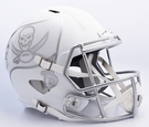 Tampa Bay Bucs Riddell ICE Alternate NFL Full Size Deluxe Replica Speed Football Helmet