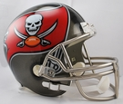 Tampa Bay Bucs Riddell NFL Full Size Deluxe Replica Football Helmet
