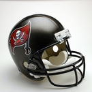Tampa Bay Bucs 1997-2013 Throwback Riddell NFL Full Size Deluxe Replica Football Helmet