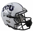 TCU Texas Christian Riddell NCAA Full Size Deluxe Replica Speed Football Helmet
