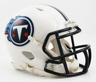 Tennessee Titans Speed Revolution Riddell Mini Football Helmet