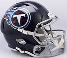 Tennessee Titans Speed Riddell Mini Football Helmet