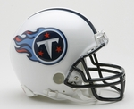 Tennessee Titans VSR4 Riddell Mini Football Helmet
