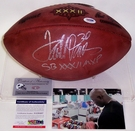 Terrell Davis - Autographed Official Wilson Leather Super Bowl XXXII NFL Football - PSA/DNA