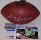 Terry Bradshaw - Autographed Official Wilson Leather Super Bowl 14 XIV NFL Football - PSA/DNA