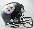 Terry Bradshaw - Autographed Pittsburgh Steelers Riddell Full Size Authentic Proline Football Helmet