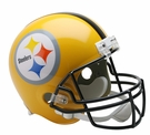 Terry Bradshaw - Autographed Pittsburgh Steelers Riddell Full Size Deluxe Football Helmet