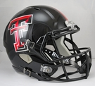Texas Tech Riddell NCAA Full Size Deluxe Replica Speed Football Helmet