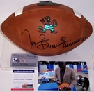Tim Brown - Autographed Wilson Official Leather Notre Dame NCAA Football - F1003 - PSA/DNA