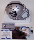 Tim Brown - Riddell - Autographed Mini Helmet Los Angeles Raiders - BAS