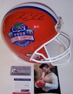 Tim Tebow - Full Size Riddell Football Helmet - 2008 National Champs Florida Gators - PSA/DNA