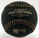 Tommy LaSorda - Autographed Official Black Major League Baseball