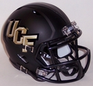 UCF Central Florida Black Matte Speed Riddell Mini Football Helmet