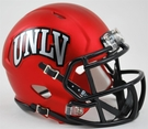 UNLV Runnin Rebels Red Satin Speed Riddell Mini Football Helmet