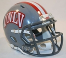UNLV Runnin Rebels Speed Revolution Riddell Mini Football Helmet