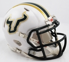 USF South Florida Bulls Speed Riddell Mini Football Helmet