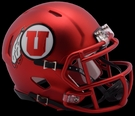 Utah Utes 2017 Alt Speed Riddell Mini Football Helmet