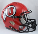 Utah Utes Riddell NCAA Full Size Deluxe Replica Speed Football Helmet