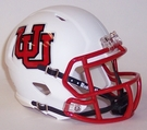Utah Utes Throwback Speed Riddell Mini Football Helmet
