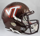 Virginia Tech Hokies Riddell NCAA Full Size Deluxe Replica Speed Football Helmet