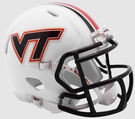 Virginia Tech Hokies Speed Riddell Mini Football Helmet