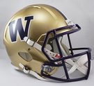 Washington Huskies Riddell NCAA Full Size Deluxe Replica Speed Football Helmet