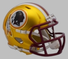 Washington Redskins - Blaze Alternate Speed Riddell Mini Football Helmet